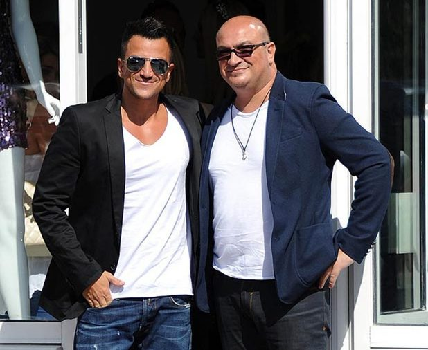 Peter Andre and his late brother Andrew