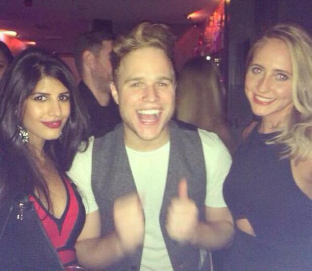 Jasmin Walia bumps into Olly Murs in a club in Essex