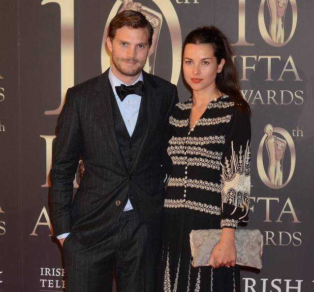 Guests attend the 2013 IFTA Awards at The Convention Centre Jamie Dornan, Amelia Warner - 2.9.2013