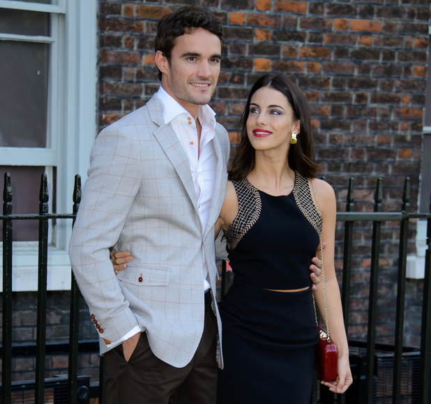 Fashion Rules Exhibition at Kensington Palace - Arrivals Person In Image:Thom Evans, Jessica Lowndes Credit :WENN.com Date Created : 07/04/2013 Location : London, United Kingdom