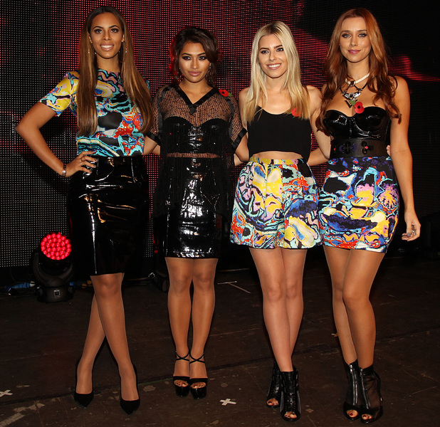 The Saturdays, Mollie King, Una Healy, Rochelle Humes, Vanessa White - Poppy Appeal Launch Gig at RAF Northolt in Ruislip, Greater London on Thursday 24 October 2013