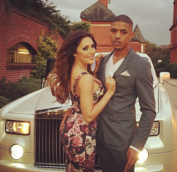 Fazer posts adorable pictures of his daughter Ava and girlfriend Ashley Emma - October 2013