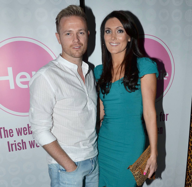 Nicky Byrne and Georgina Byrne Launch party for 'her.ie - The website for Irish women' held at Pink Nightclub Location : Dublin, Ireland Object Name : Nicky Byrne and Georgina Byrne