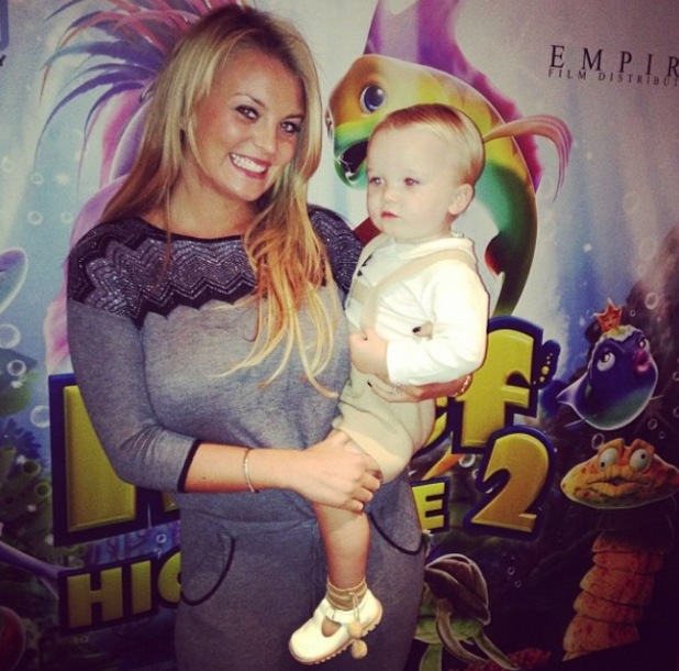 Celebrity screening of 'The Reef 2: The High Tide' at Soho Hotel - Billi Mucklow 20.10.2013