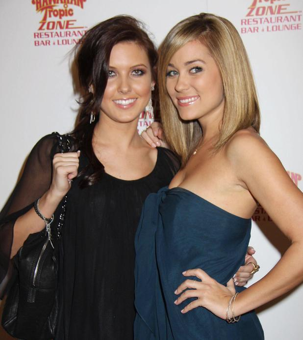 Audrina Patridge, Lauren Conrad The Hawaiian Tropic Zone Grand Opening at Miracle Mile Shops in Planet Hollywood Resort And Casino Las Vegas, Nevada - 26.01.08