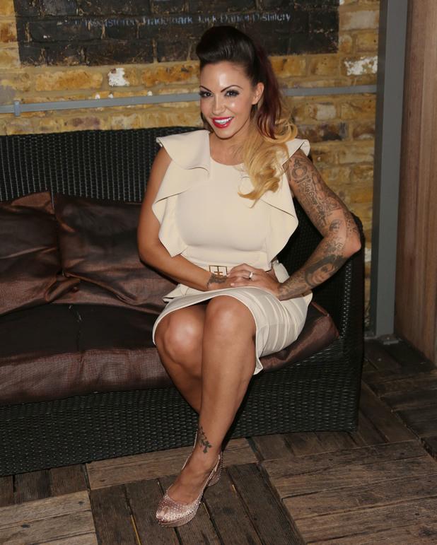 Jodie Marsh TV press launch in London - 9.10.2013