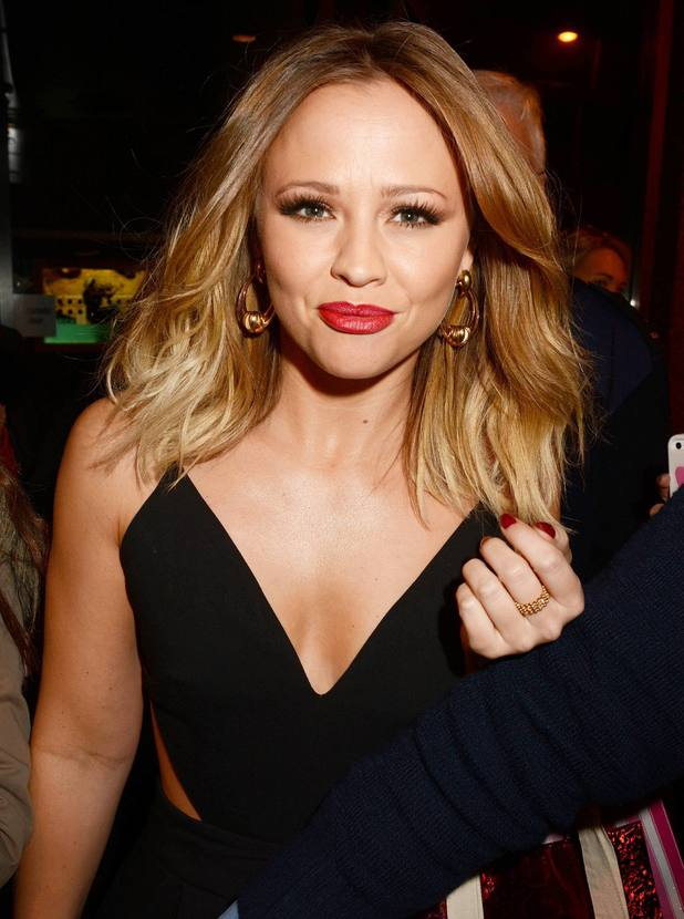 Kimberley Walsh outside RTE studios for 'The Late Late Show', 25 October 2013