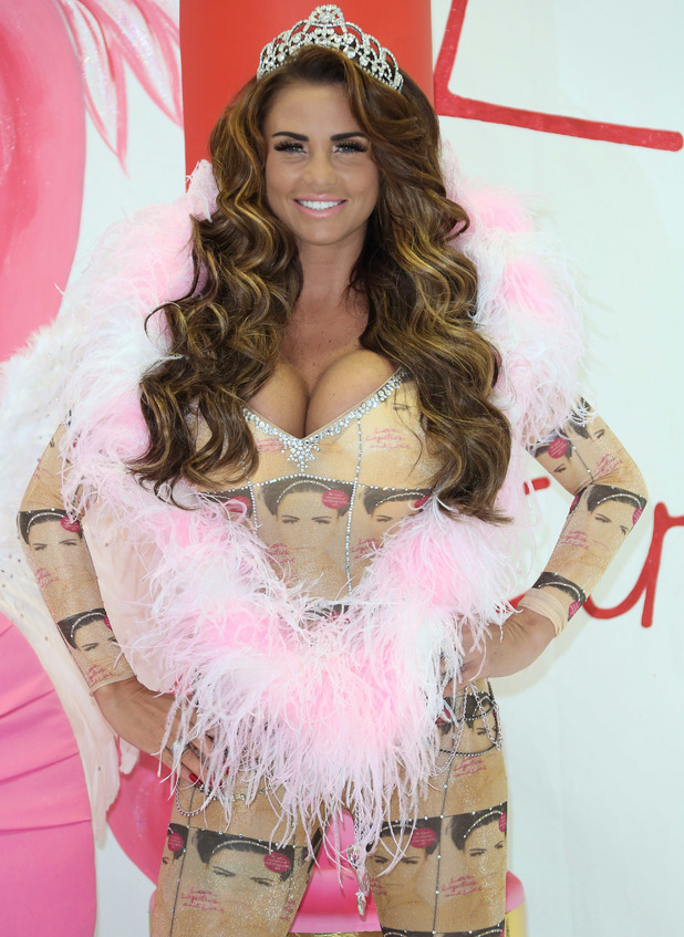 Katie Price launches her new autobiography, Love Lipstick and Lies at the Worx studios - 22 October 2013