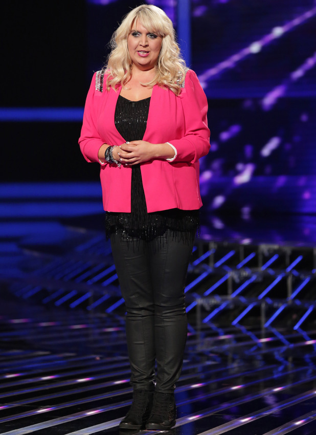 Shelley Smith - 'The X Factor' TV show, London, Britain - 19 Oct 2013