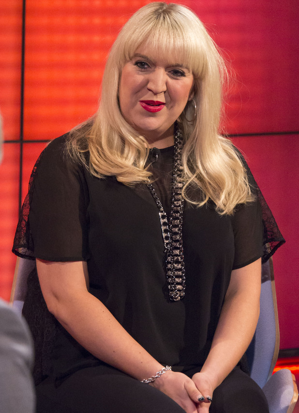 Shelley Smith from The X Factor appears on 'Daybreak' TV Programme, London, Britain. - 21 Oct 2013