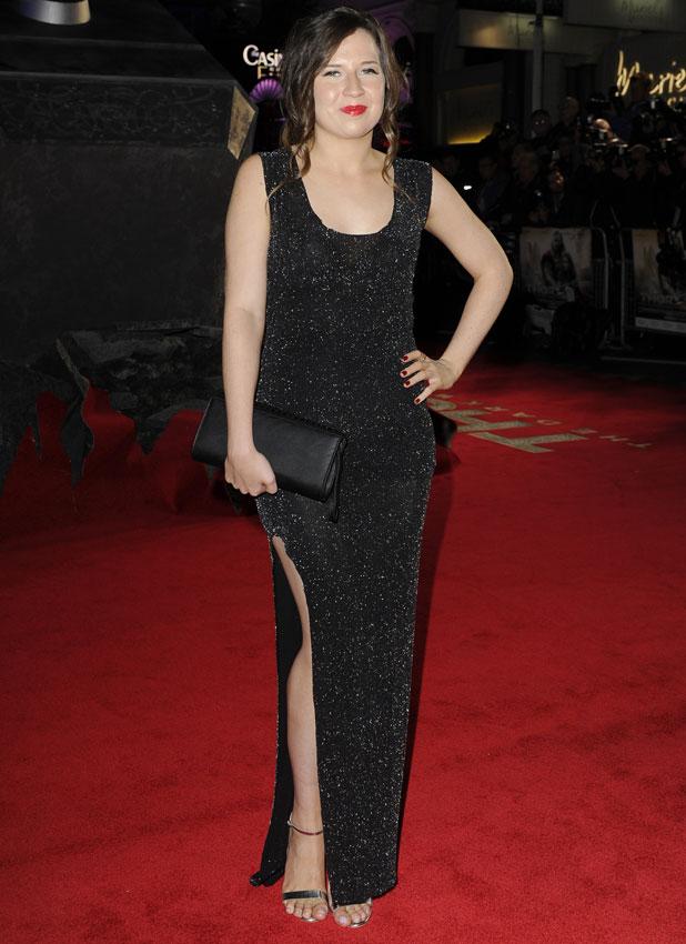 Abi Alton, 'Thor: The Dark World' film premiere, London, Britain - 22 Oct 2013