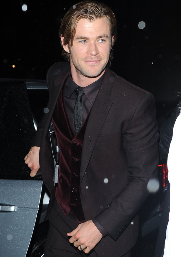 Chris Hemsworth, Thor After Party at Sake No Hana Restaurant London, 22 October 2013