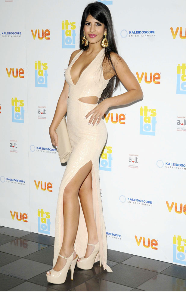 Jasmin Walia, 'It's A Lot' Film Premiere, London, Britain - 21 Oct 2013