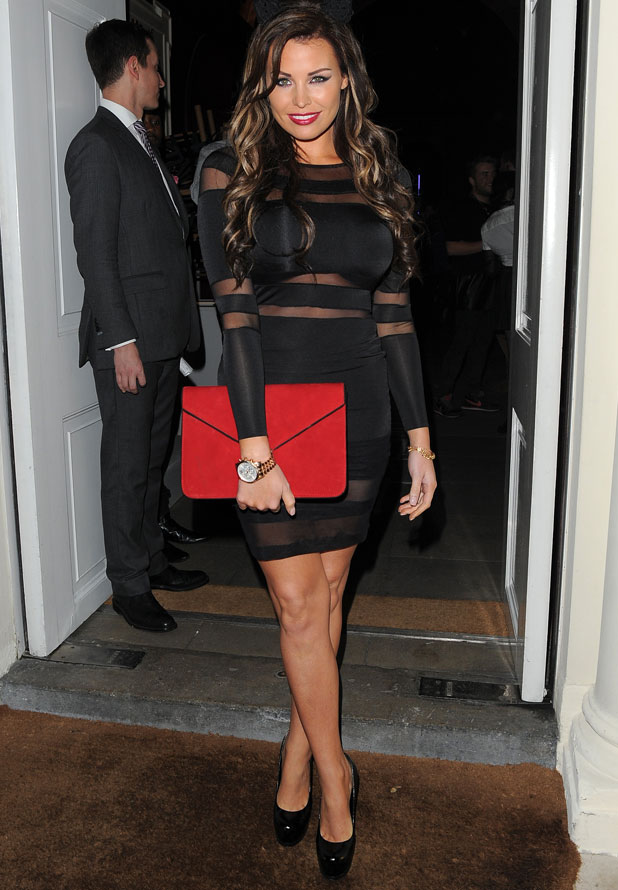 Jessica Wright at Claire's Halloween Party, London, 22 October 2013