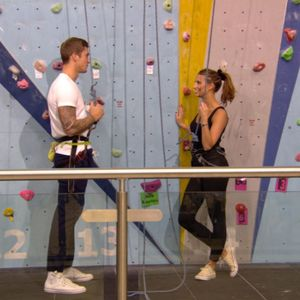 TOWIE episode preview - Wednesday 30 October 2013. Dan Osborne and Ferne McCann go rock-climbing on their date.