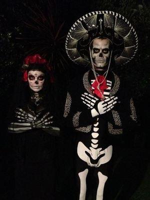 Fergie and husband Josh Duhamel dress up for Halloween