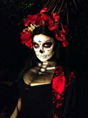 Fergie and Josh Duhamel dress up for Halloween.