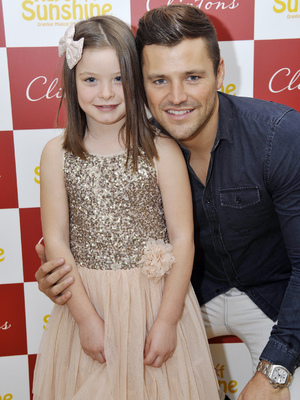 Mark Wright joins sick children for Ray of Sunshine event - 27 October 2013