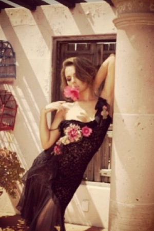 Cheryl Cole posts photos from her 2014 calendar shoot.