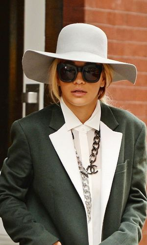 Rita Ora out and about, New York, America - 30 Oct 2013