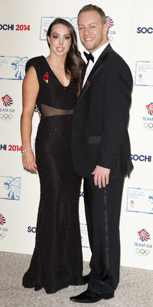 Beth Tweddle, Daniel Whiston - British Olympic Ball in London, 30 October 2013