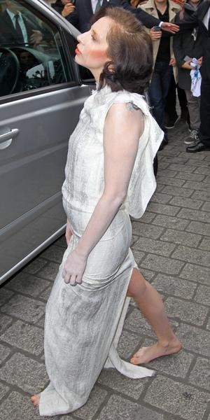 Lady Gaga at the Langham Hotel, London, Britain - 01 Nov 2013