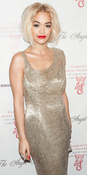 Rita Ora - 2013 Gabrielle's Angel Foundation Angel Ball at Cipriani Wall Street in New York, 29 October 2013