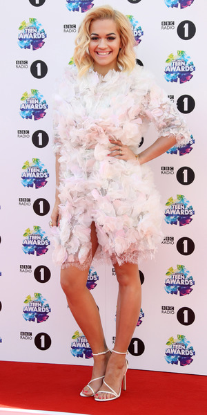 Rita Ora attends the BBC Radio 1's Teen Awards held at Wembley Arena, 3 November 2013