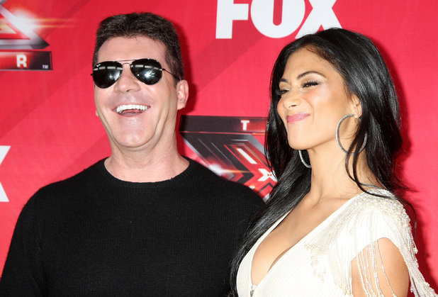 "Simon Cowell, Nicole Scherzinger FOX's ""The X Factor"" Press Conference held at the CBS Studios Los Angeles, California - 19.12.11"
