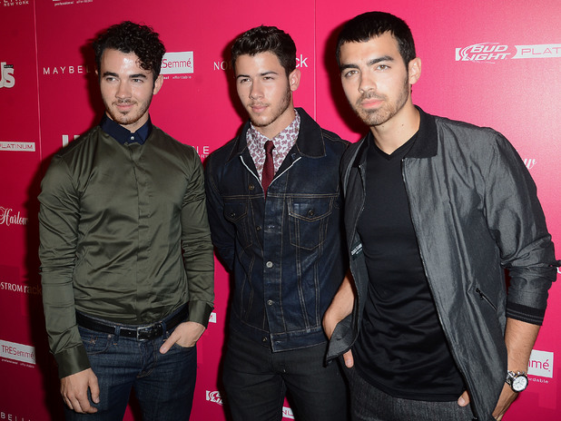 Jonas Brothers at US Weekly Most Stylish New Yorkers Party Date Created : 09/10/2013 Location : New York, United States