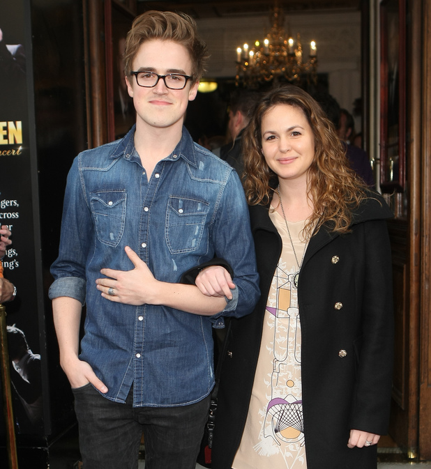 'The West End Men' Opening night at the Vaudeville Theatre - Tom Fletcher, Giovanna Falcone - 6.3.2013