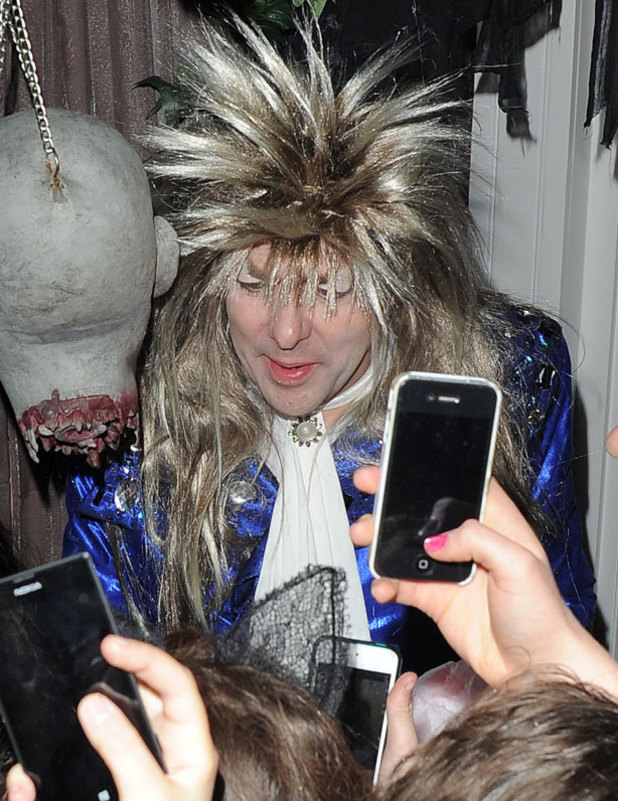 Jonathan Ross' Halloween 2013 party: all the celebrity costumes