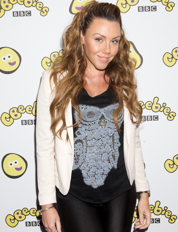 Pregnant Michelle Heaton attends CBeebies party - 27 October 2013