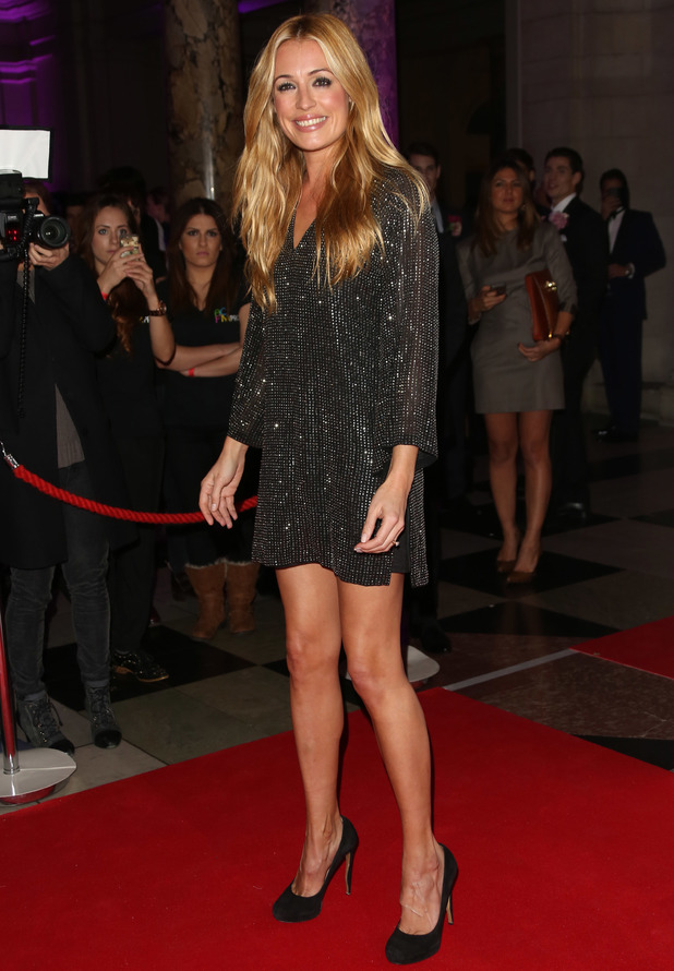 Cat Deeley - WGSN Global Fashion Awards held at the Victoria & Albert Museum - Arrivals - 30 October 2013
