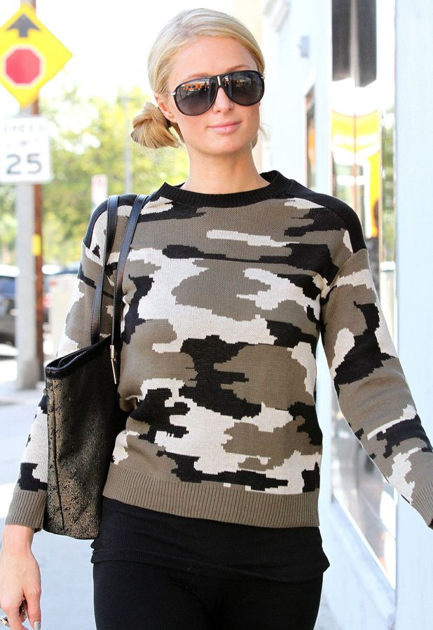 Paris Hilton out and about in Los Angeles, America - 30 Oct 2013