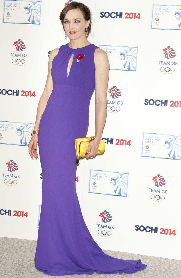 Victoria Pendleton at the British Olympic Ball in London, 30 October 2013