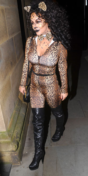 Chelsee Healey, The Mirror Halloween Ball at the Radisson Hotel - Outside, 31 October 2013
