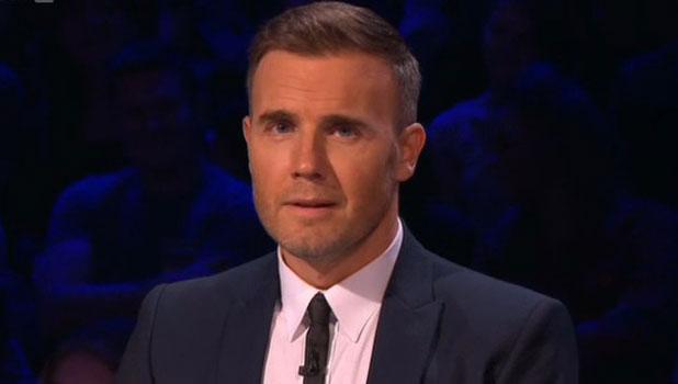 Gary Barlow on Xtra Factor, 27 October 2013