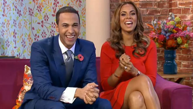 Rochelle and Marvin Humes co-host This Morning, 1 November 2013