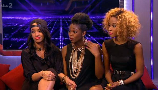 Miss Dynamix on Xtra Factor, 27 October 2013