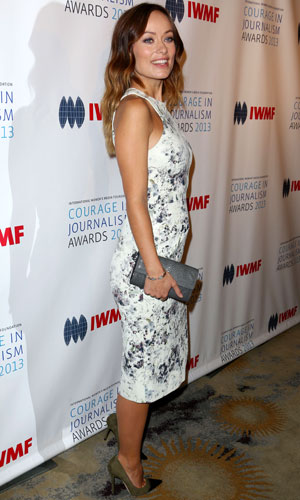 Olivia Wilde, International Women's Media Foundation Hosts the 2013 Courage in Journalism Awards, Los Angeles, America - 29 Oct 2013