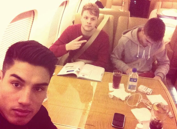 The Wanted jet out of UK after their X Factor performance, 27 October 2013