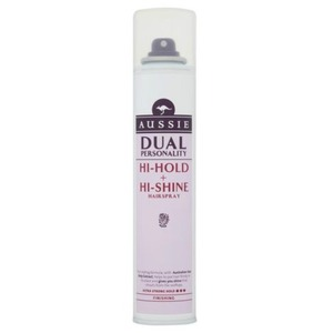 Aussie Dual Personality Hi-Hold & Hi-Shine Hairspray