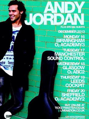Made In Chelsea's Andy Jordan announces UK tour. (4 November)