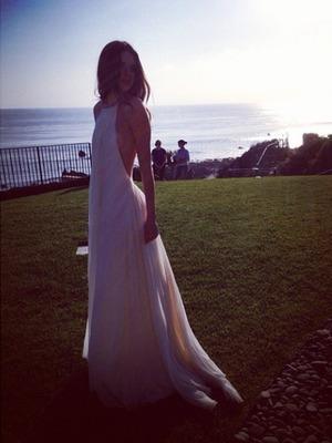 Kendall Jenner at a family shoot, Malibu, Nov 13
