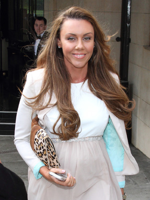 Michelle Heaton at the Breakthrough Breast Cancer Ladies Lunch held at The Dorchester - Departures. 10/02/2013