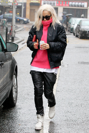 Rita Ora out and about, London, Britain - 06 Nov 2013