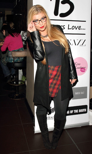 Bloggers Love Fashions Night Out at the Penthouse nightclub, Leicester Square, London - 7.11.2013 TOWIE's Abi Clarke