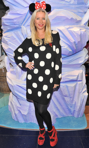 Denise Van Outen attends Disney Store Share the Magic party for Great Ormond Street, 6.11.13