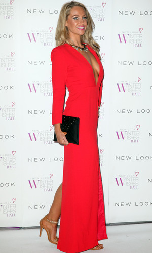 Josie Gibson New Look Winter Wishes Charity Ball held at Evolution Battersea, 6.11.13